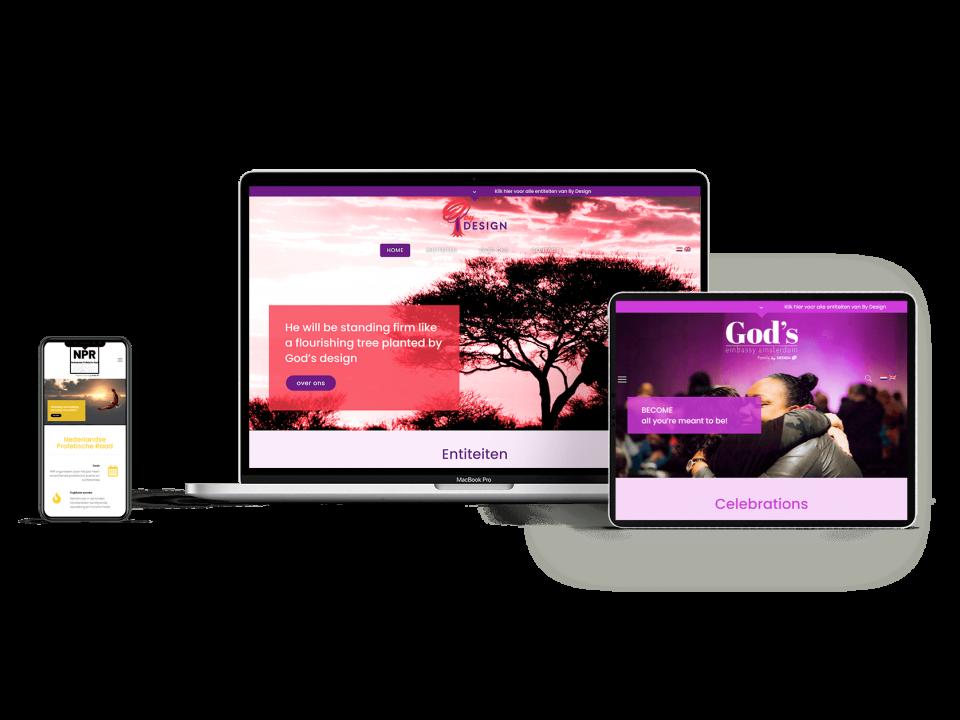 Multi website by-design